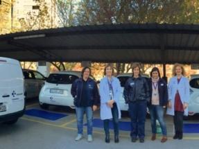 Álava se dota de 12 vehículos eléctricos para prestar el servicio de Hospitalización a Domicilio y Transporte Intercentros