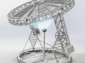 Abu Dhabi probará un novedoso concentrador solar giratorio