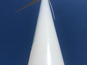 EDPR pone en marcha tres aerogeneradores en Burgos casi tan altos como las torres de Madrid
