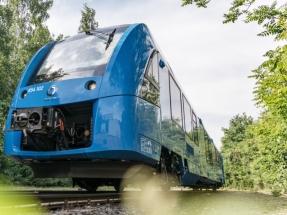 Alstom propone su tren de hidrógeno para cubrir las líneas ferroviarias no electrificadas