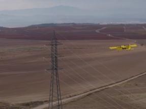 Drones de largo alcance para revisar por control remoto las instalaciones eléctricas
