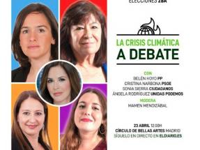 Greenpeace y eldiario.es organizan el debate que falta: la crísis climática