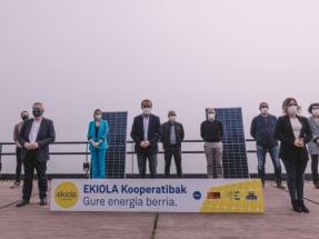 Otra cooperativa, para autoconsumo, solar, un megavatio, en Guipúzcoa