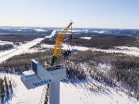 La sueca Eolus entrega el parque eólico Anneberg a su cliente KGAL
