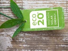 ECO20, el sello que acredita que un producto ha sido fabricado con energía solar