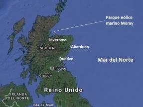 Moray, donde nace la electricidad eólica marina más barata del Reino Unido