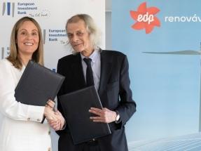 EDPR financiará sus parques eólicos y solares con un crédito multimillonario del Banco Europeo de Inversiones
