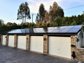 Otra instalación aislada de autoconsumo solar fotovoltaico... en Galicia
