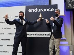 Endurance Motive debuta en la bolsa BME Growth con una subida de casi el 50%