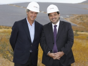 Acciona anuncia que duplicará en tres años su potencia renovable operativa en Latinoamérica