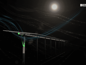 ESAsolar desarrolla un sistema que protege a los seguidores solares de cualquier tipo de viento