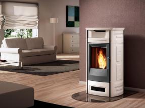 Calentar una vivienda con pellets es más barato que hacerlo con gas natural