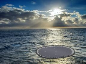 Plataformas flotantes cubiertas de placas solares en aguas canarias
