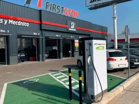 First Stop desarrolla su primera red nacional de recarga rápida para vehículos eléctricos