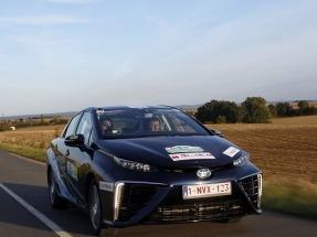 Un vehículo Toyota de hidrógeno gana el primer rally eléctrico de Montecarlo