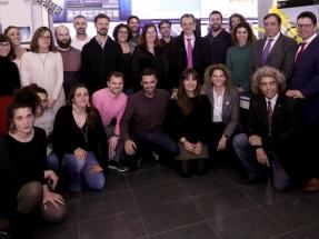 El ministro Pedro Duque visita la sede del Sistema de Observación y predicción Costero de las Islas Baleares