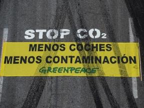 Greenpeace exige mejorar las Zonas de Bajas Emisiones y fomentar el teletrabajo en la Semana de la Movilidad