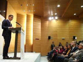 Así ha sido el discurso con el que Pedro Sánchez ha presentado el Paquete 2030 de Energía y Clima