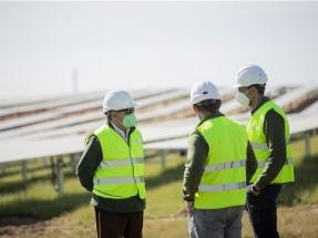 Iberdrola anuncia que ya ha alcanzado los mil megavatios de capacidad fotovoltaica operativa en España