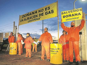 Indignación de los ecologistas ante la subvención a Fenosa para almacenar gas en Doñana