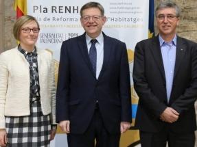 La Comunidad Valenciana presenta un plan para la reforma interior de viviendas centrado en la accesibilidad y la eficiencia energética