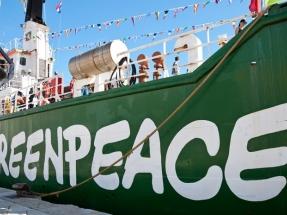 """Greenpeace reclama a los partidos que formen un gobierno """"antes del comienzo de la Cumbre del Clima de Madrid"""""""