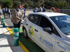 Los residuos que trata la depuradora de Guijuelo ya son biogás para automoción