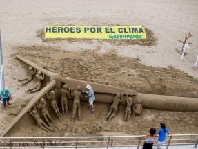 Greenpeace pide una Ley que asegure el 100% renovables en 2050