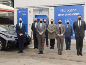 En Madrid ya se puede repostar hidrógeno en 5 minutos para tener una autonomía de 550 kilómetros
