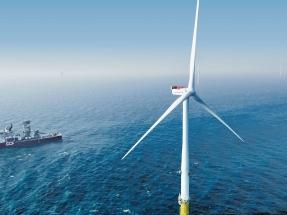 Vattenfall conecta la primera turbina de su megaparque marino Horns Rev 3