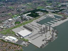 Siemens inaugura en la ciudad británica de Hull su nueva fábrica de palas