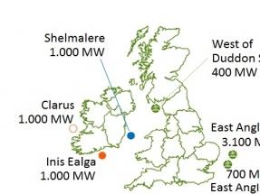 Iberdrola se hace en Irlanda con una cartera de 3.000 megavatios eólicos marinos