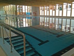 Hernani amplía sus piscinas municipales y consume menos con biomasa que con gas