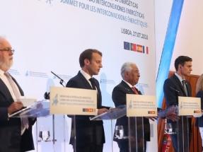 España, Francia y Portugal acuerdan acelerar las interconexiones energéticas