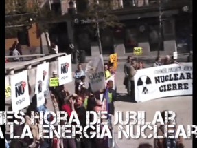 Madrid, 10 de junio: fiesta para jubilar a las plantas nucleares