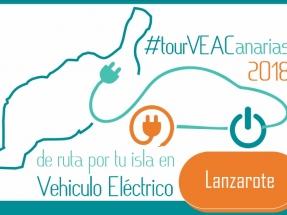 La caravana VEACanarias de vehículos eléctricos llega a Lanzarote