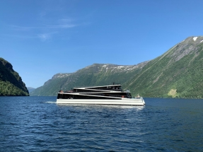 The Fjords Takes Delivery of Second All-Electric Passenger Ship