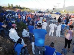 La plantilla de LM aprueba por mayoría el acuerdo que rebaja a 351 los despidos en la planta berciana