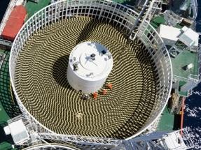 Aerogeneradores de diez megavatios flotando sobre aguas con profundidades de hasta 600 metros