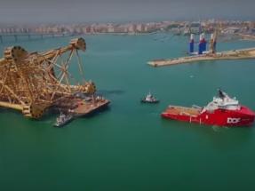 ACS construirá la plataforma de conversión eléctrica del parque eólico marino Dolwin 6