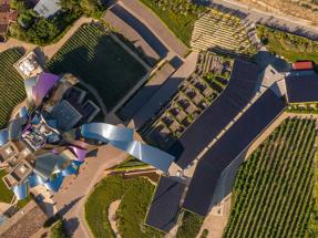 El icónico hotel de Marqués de Riscal en Elciego (Álava) instala 300 kW para autoconsumo