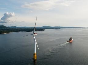 Escocia conecta el primer parque eólico marino flotante del mundo