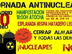 Madrid acoge mañana una macromanifestación antinuclear
