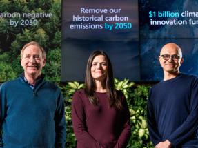 Microsoft se compromete a eliminar del medioambiente para 2050 todas las emisiones de carbono que ha generado