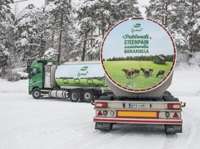 Valio Introduces Finland's First Biogas-Fueled Milk Collection Truck