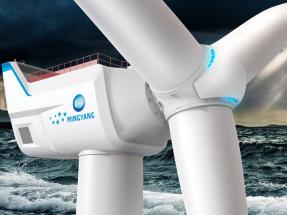 La china MingYang desarrolla un aerogenerador marino de 16 MW, el mayor del mundo