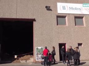 Casi la mitad de las redes de calor con biomasa están en Cataluña