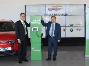 Iberdrola firma una alianza con Montalt para impulsar las ventas de vehículo eléctrico
