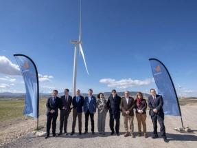 Naturgy inaugura en la provincia de Zaragoza un parque eólico de 24 megavatios