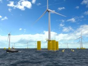 Naval Energies utiliza el universo virtual 3DExperience para desarrollar sus aerogeneradores flotantes